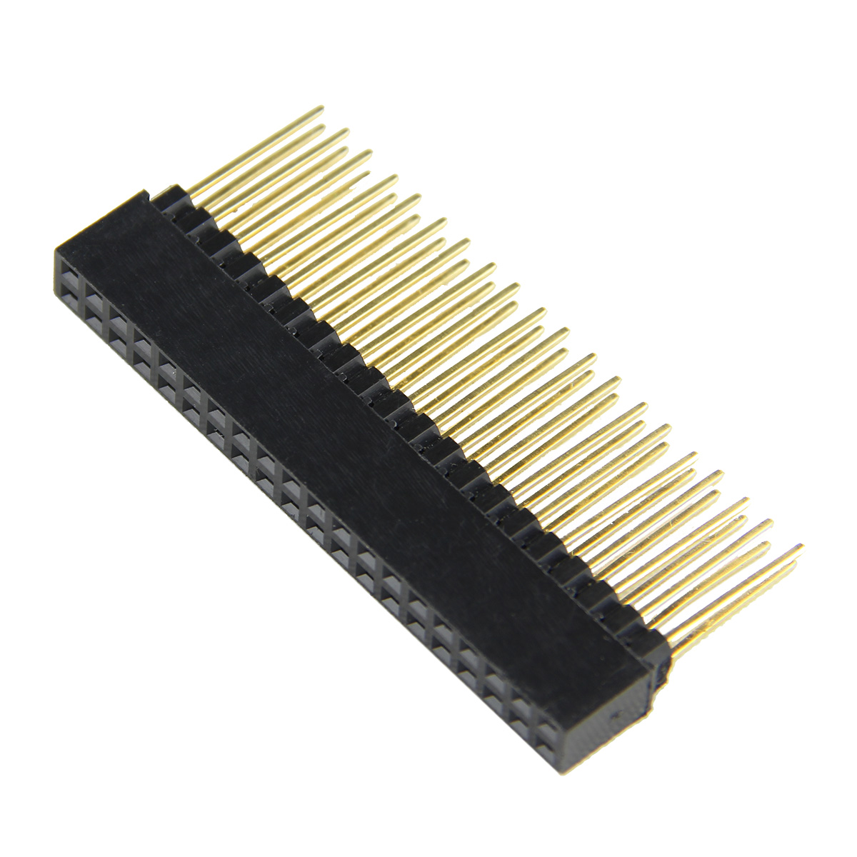 12MM 40Pin Female Stacking Header Connector For Raspberry Pi 2 Mode B& B+ New12MM 40Pin Female Stacking Header Connector For Raspberry Pi 2 Mode B& B+ New