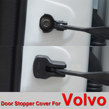 4PCS Special Car Door Stopper Cover for Volvo door limit device cover anti rust and anti collision cover Free Shipping