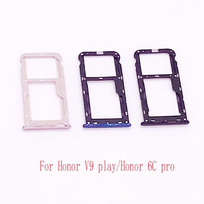Nano Sim Karte.Nano Sim Micro Sim Karte Tray Halter Micro Sd Card Slot Halter Adapter Für Honor V9 Spielen Honor 6c Pro
