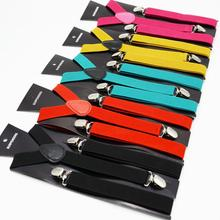 300 قطعة/الوحدة الكبار الحلوى اللون كليب على الحمالات/الرجال/المرأة الصلبة اللون مطاطا Y الشكل قابل للتعديل الأقواس 2.5*100 سنتيمتر