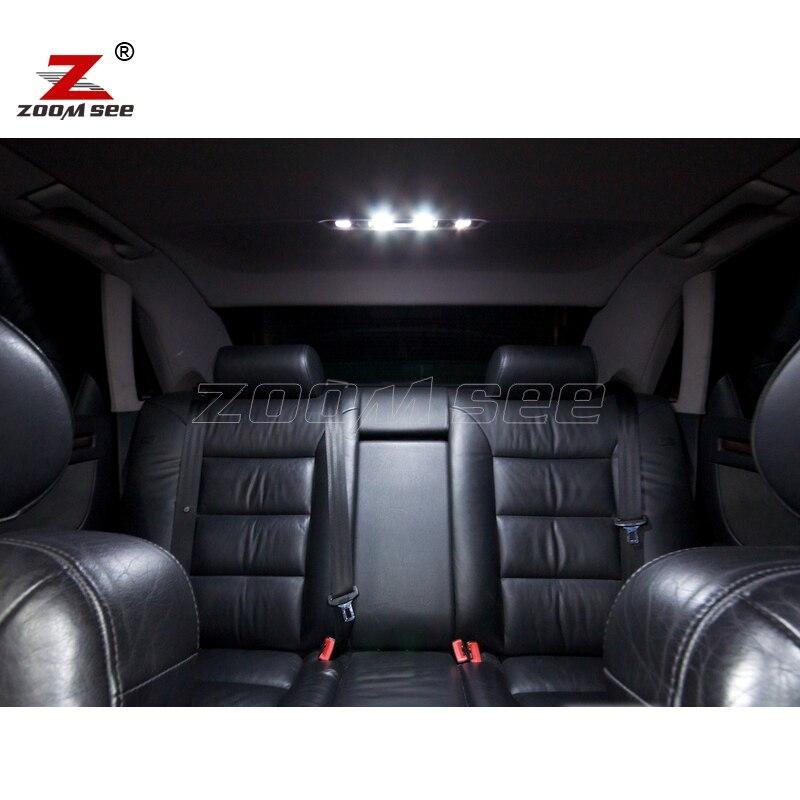 29 шт. x canbus Нет ошибок для 1997-2002 Audi A8 S8 D2 светодиодный потолочный светильник для внутреннего купола лампа для чтения Комплект посылка