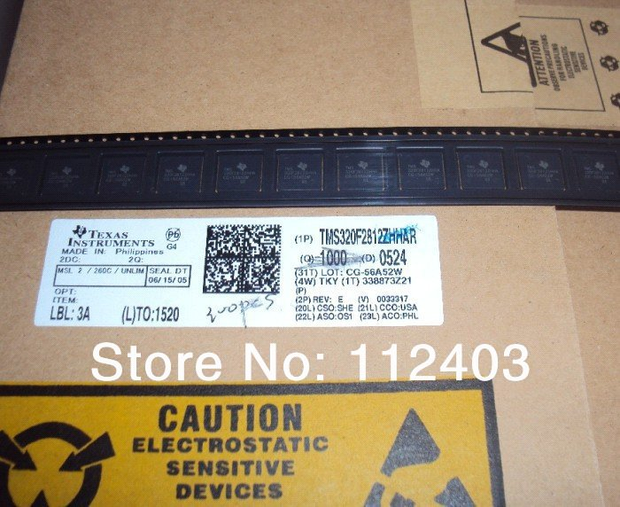 TMS320F2812ZHHAR  TMS320F2812ZHHA  TMS320F2812 New and Original free shipping IC Chips /Integrated Circuit /ICSHOU