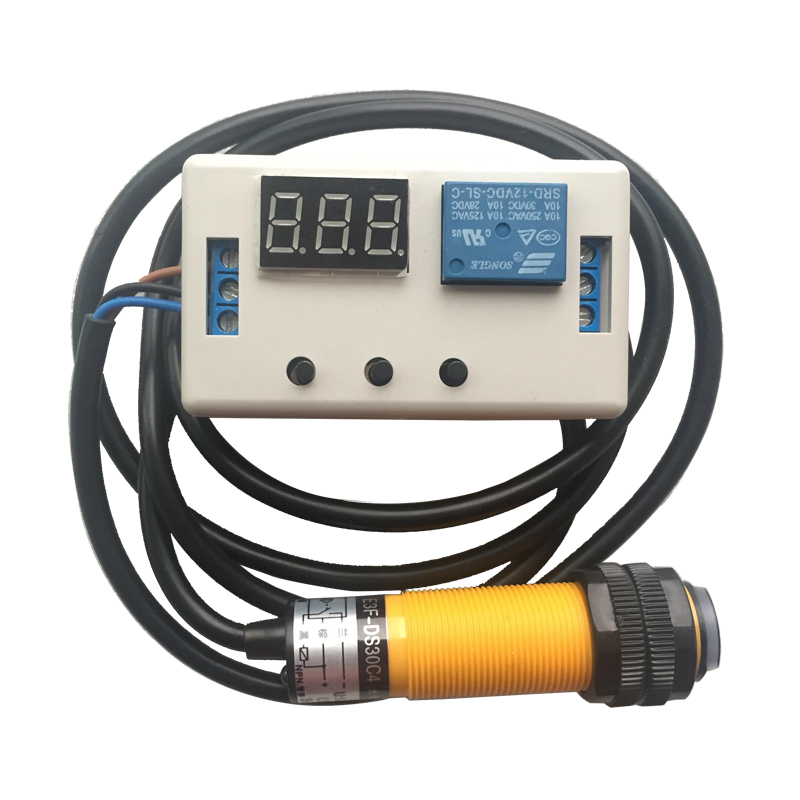 Trigger Delay Infrared Photoelectric Switch Sensor Npn