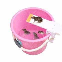 Nowy pułapka na mysz automatycznego resetowania nie zabić bez trucizny pułapki deski huśtawki przynęty Catcher humanitarne mysz zabójca ogród zwalczania kontroli produktu w Pułapki od Dom i ogród na