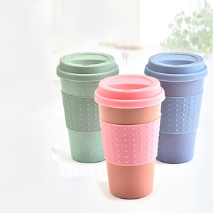 Yiwumart 1PCS Wheat Mugs Hand