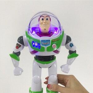Image 5 - Toy Story 4 Buzz Light Jaar Speelgoed Talking Lichten Spreken Engels Joint Beweegbare Toy Story Action Figure Collectible Pop Speelgoed