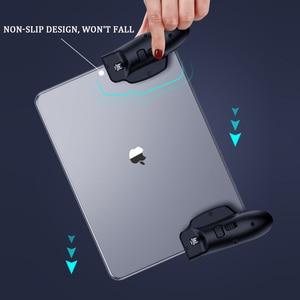 Image 5 - PUBG Tablet Gamepad בקר טריגר ג ויסטיק עבור iPad אוניברסלי L1R1 Shooter כפתור אחיזה עם מנעול מתכווננת החלקה Joypad