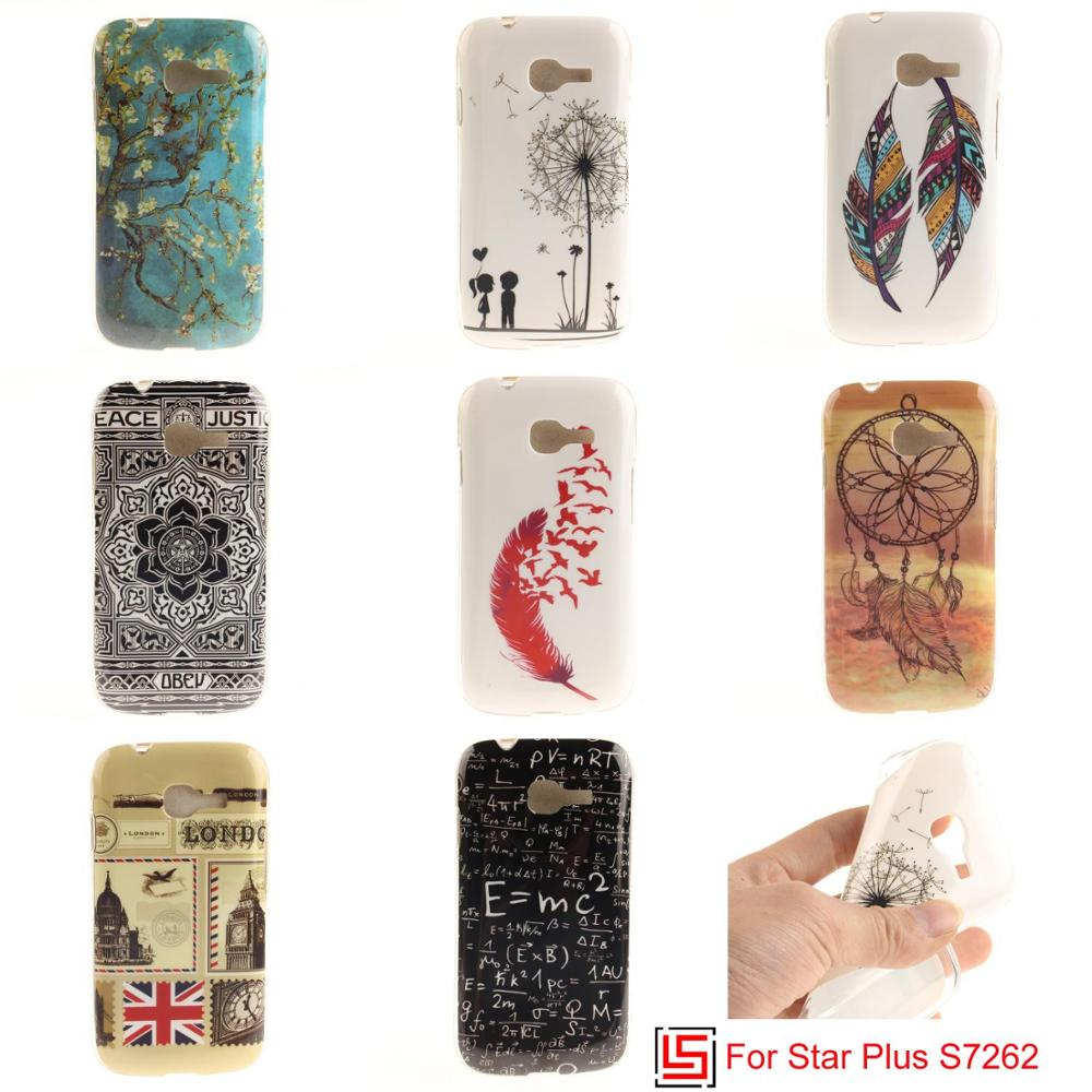 Ultra Thin TPU Silicone Soft Phone Case Cover Bag For Samsung Sansung Galaxy Galaxi Star Plus S7262 GT-S7262 S 7262 S7260 Owl