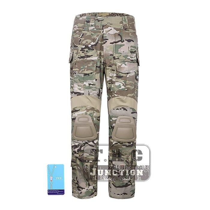 EmersonGear BDU G3 Combat Hunting Camouflage Pants Emerson Multicam Battlefield Trousers Assault Paintball Uniform w/ Knee Pads emersongear combat uniform hunting pants with knee pads multicam shirt camouflage emerson pants g3 men suit atfg