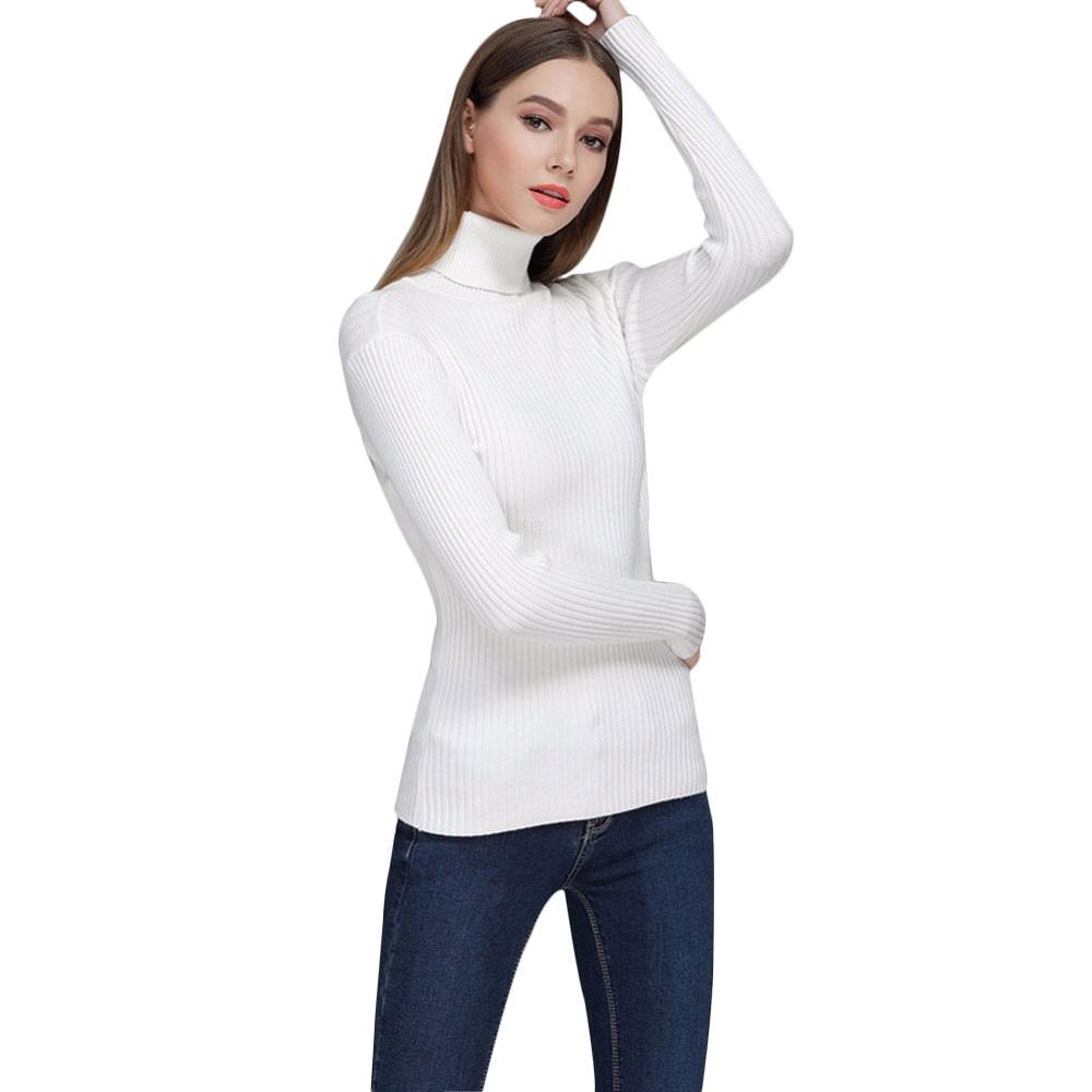 ladies sweater 2018 autumn Korean version beaded long-sleeved knit shirt Slim collar long sleeve sweater women's shirt F80