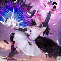 The Game LOL Swan Dream XiaoQiao Cosplay Costume Ballet Skirt Halloween Women Cosplay Dress
