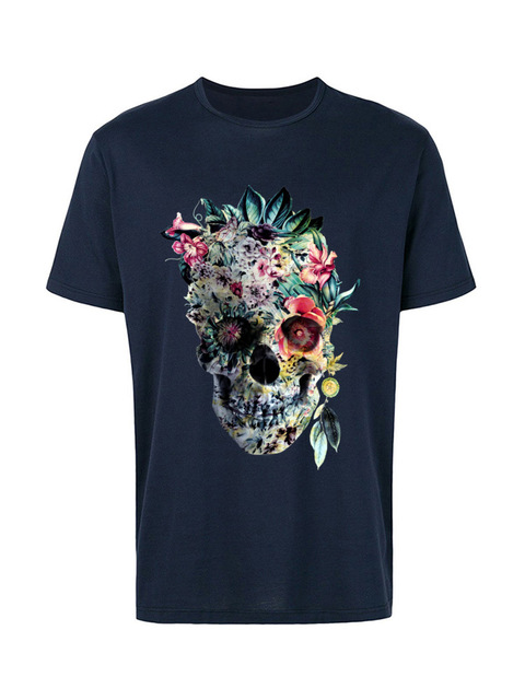 Voodoo Flower Skull Short Sleeve Casual Top 6