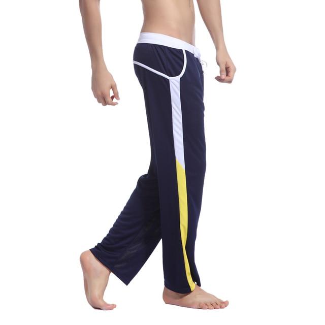 Harem Pantalones de Moda Casual Nuevo Estilo transpirable Pantalones Deportivos Pantalones Pantalones Gota Entrepierna Pantalones Sueltos de Los Hombres Chándal