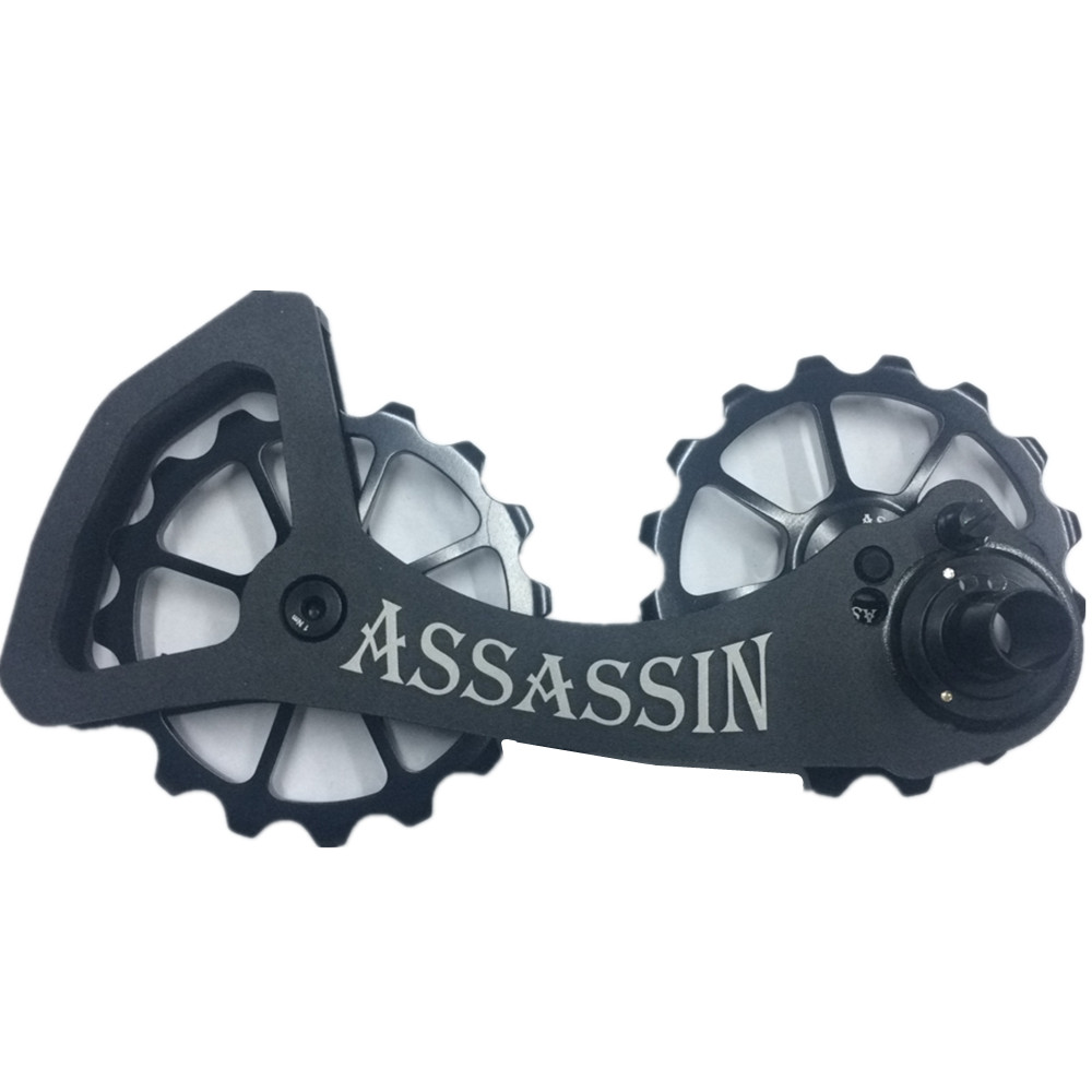 ASSASSIN Bicycle caRear Derailleur Pulleys Wheel 16T 16T Bike Jockey Wheel For Shimano 6800 6870 9000 9070 Bicycle Parts Ultegra