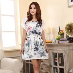 Новая пикантная ночная рубашка для женщин, большие размеры 4XL-M, повседневная шелковая атласная ночная рубашка, ночное белье, ночная