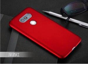 Новый резиновый матовый Твердый пластиковый чехол на заднюю панель чехол для LG G3s D724 D722 G3 S G3 mini Beat LG G3 G4 G5 G6, высокое качество
