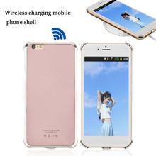 Practical Solid Color Wireless Mobile Phone Charging Case Cover Protective Suitable