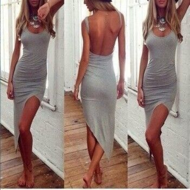 d6ab6fd8d1d hot sale Summer Party Dresses girl party dress women slim Asymmetry dresses  Female clothes 2015 new women fashion sexy dress.