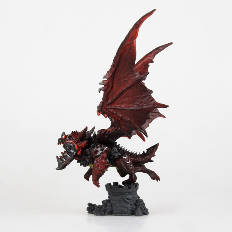 New WOW Deathwing Neltharion in Cataclysm Action Figure MMORPG Video Game Dragon Model Game Players Fan Collection Desk Decor