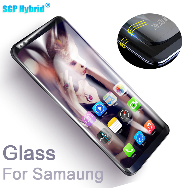 For Samsung Galaxy S8 Glass Tempered Glass For Galaxy S6 S7 Edge S8+ Plus Note 8 Toughened Screen Protector Protective Film Case