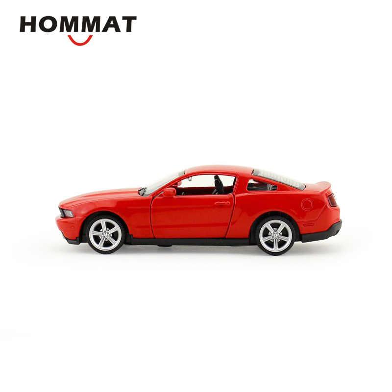 HOMMAT моделирования 1:43 Масштаб Ford Mustang GT спортивный модель автомобиля сплава литья под давлением игрушка модель автомобиля подарок автомобили игрушки для детская