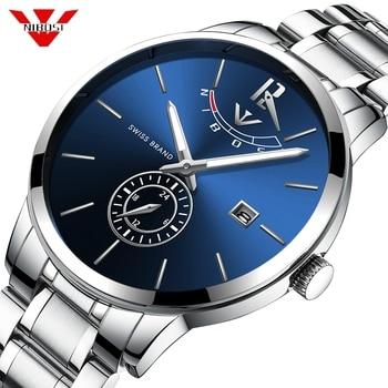NIBOSI Watch Men Sport Quartz Blue Clock Mens Watches Top Brand Luxury Waterproof Business Watch Relogio Masculino Reloj Saat