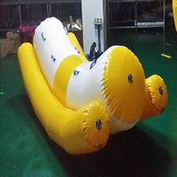 1 PC single row Inflatable water games water toys water seesaw water sports
