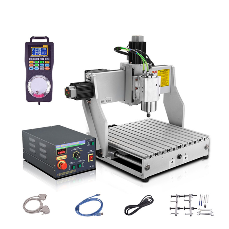1.5KW spindle Industrial wood 4axis cnc router machine 3040 PCB metal 3axis Milling Machine 4030 2200W dc spindle 500w 3axis cnc wood carving machine 3040 4axis mini cnc 4030 router machine