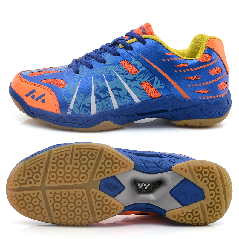 Brand Men's Badminton Shoes Professional Sports Shoes Women's Breathable Indoor Court Sneakers Shock-Absorbant Kid's Tennis Shoe professional cushioning volleyball shoes unisex light sports breathable shoe women sneakers badminton table tennis shoes g364
