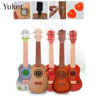 Plastic Colorful Child Beginners Small Guitar Toy Ukulele Environmental Protection Kids Musical Instruments Mini Learning