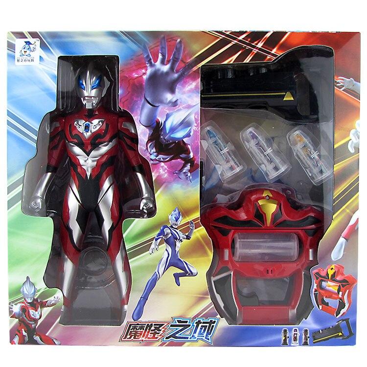 2019 ขายเหมือนเค้กร้อน 33.5 ซม. Ultraman Geed Action Figure Geed Riser Fusion Rise Acousto   optic เด็กของเล่นวันหยุดของขวัญ-ใน ฟิกเกอร์แอคชันและของเล่น จาก ของเล่นและงานอดิเรก บน   1