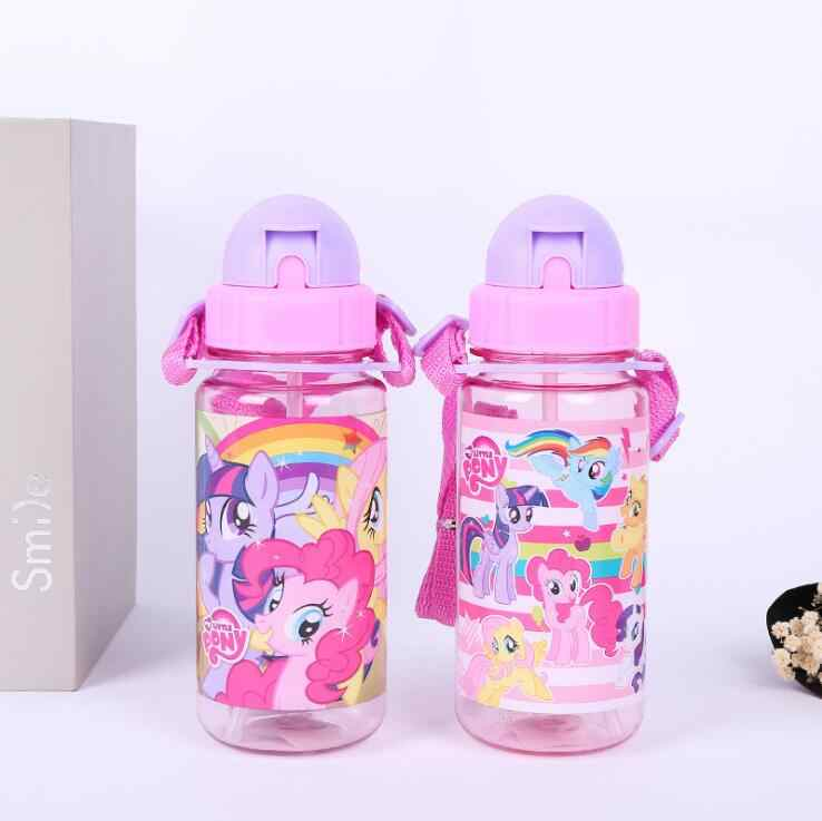 d9b4431951 Detail Feedback Questions about kids water bottle with straw Cartoon pony  children's plastic strap drinking bottle Travel essential sippy shatter  resistant ...