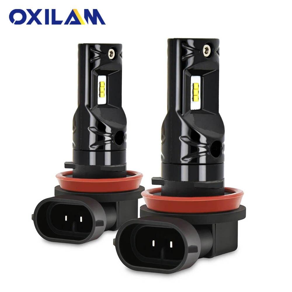 Led Bulb H3 H11 H1 H8 HB4 9006 HB3 9005 H27 881 880 PSX24W H16 LED Fog Lamp For Auto Daytime Running Lamp Car Lights 12V 6000K