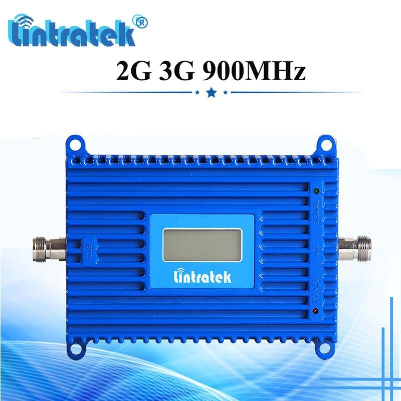 Lintratek GSM UMTS 900 MHz Signal de téléphone Mobile répéteur cellulaire Booster 2G 3G 900 répéteur données et amplificateur vocal données vocales dh