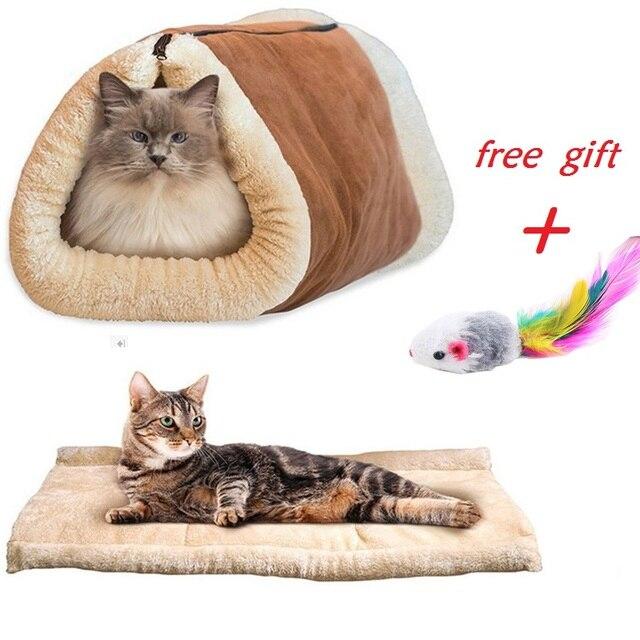 Pet Kennel Cat New Bed Sofa Fleece Dog Material Small Puppy Polar fqdRYxRw