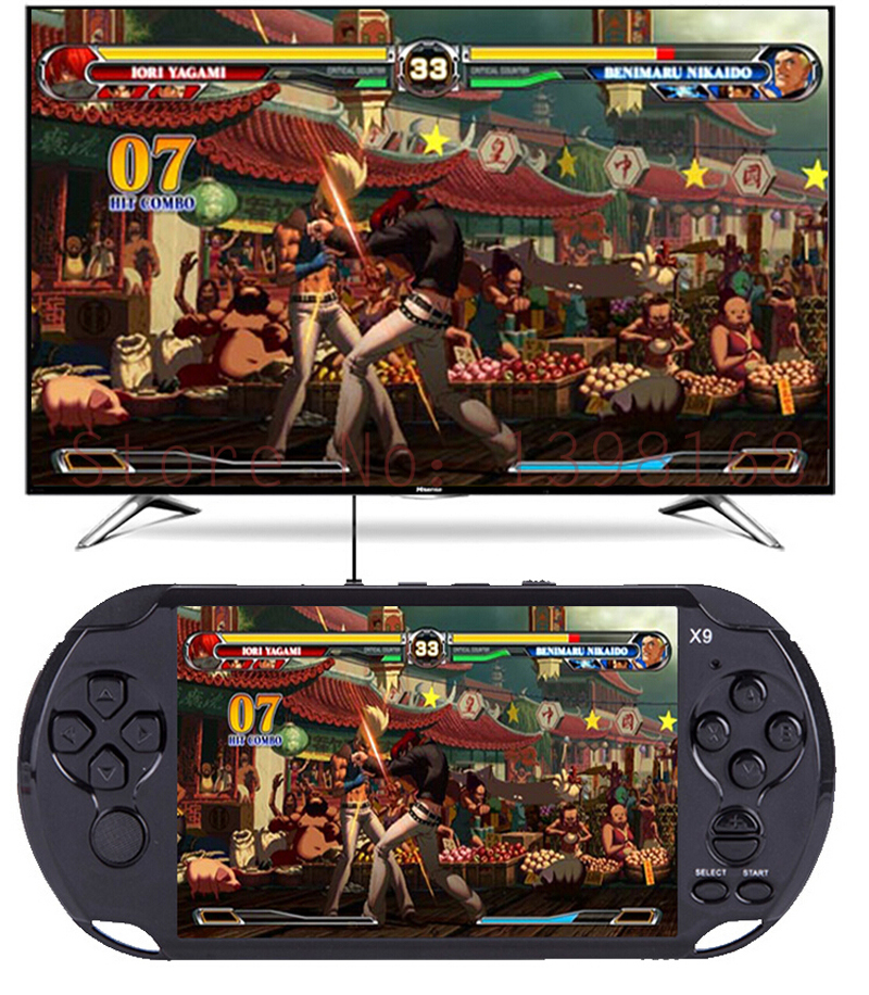 2016 NEW 5 inch Handheld Game Console/ Board Games/ Classic Games Perfect Support  for GBA 3D etc Format Games board games