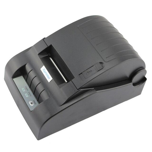 Небольшой xp-58iii термопринтер pos58mm порт ethernet термальный чековый принтер интерфейс ЛОКАЛЬНОЙ СЕТИ