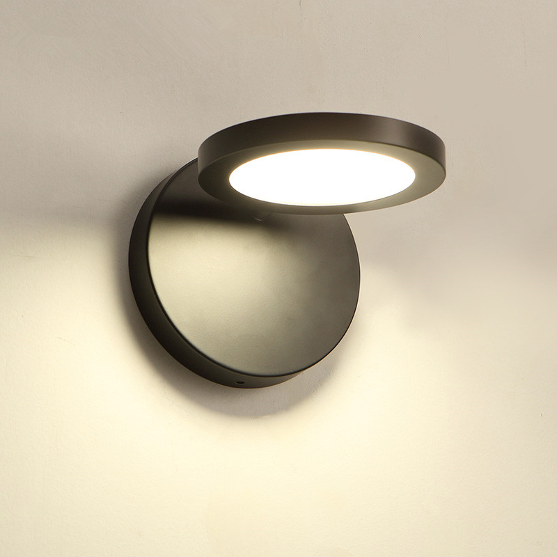 Modern LED Wall Lamp Black White Wall Sconce Light Up/Down Living Room Bedroom Bedside Lamp Aisle Wall Lighting Fixtures modern sconce wall lamp light stainless steel with flexible arm for reading bedroom living room led wall light lighting fixtures