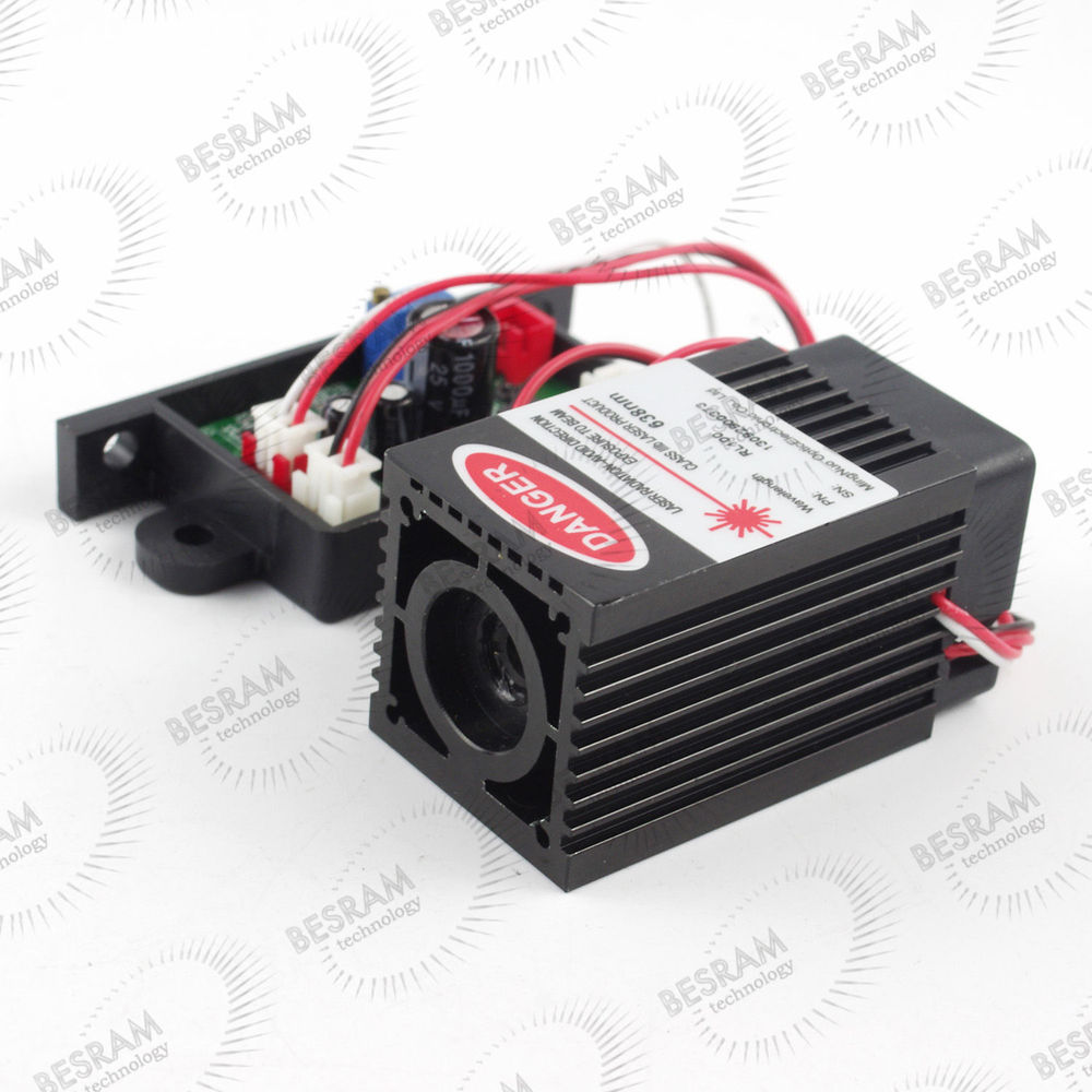 200mW - 300mW 637nm 638nm Laser Diode Module TTL Stage Lighting DJ Show 12vdc измерительный прибор laser target 150 200 300 300 300