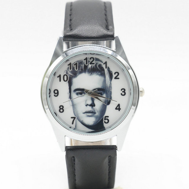2017 Justin Bieber Jewelry For Men Women Free Shipping quartz watch