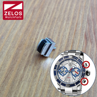 UN waterproof watch pusher for Ulysse Nardin Diver 42.7mm chronograph watch press push button watch parts