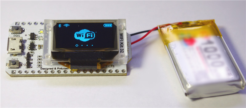 ESP32 Bluetooth WIFI Kit Blue OLED 0.96 inch Display Module CP2102 32M Flash 3.3V-7V Internet Development Board for Arduino 1