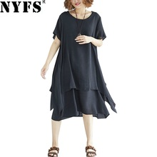 4ac169ef513fb Buy two piece linen dress and get free shipping on AliExpress.com
