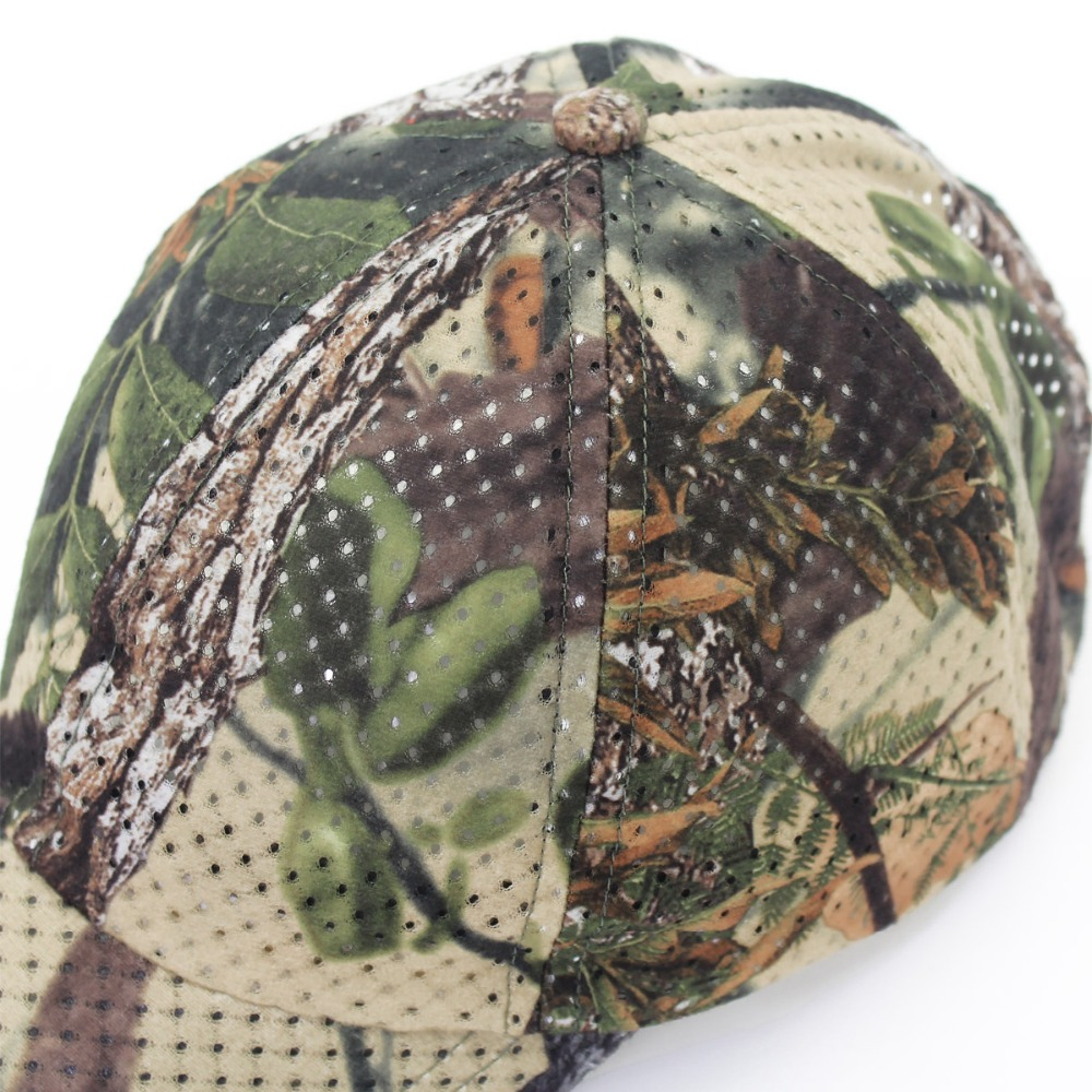 Jungle Old Tree Hat Hunting Fishing Camo Cap Adjustable Camcouflage Baseball Cap For Men (5)