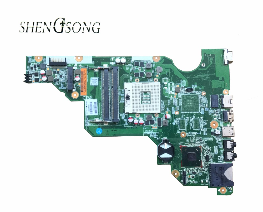 687702-501 Free Shipping For HP CQ58 650 687702-001 motherboard HM70 GMA HD DDR3 цена