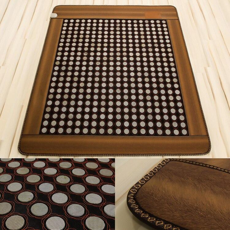 Бесплатная доставка товары для здоровья камня Отопление матрас лучшие матрасы по спине массаж камнями для продажи 1.0x1.9 м