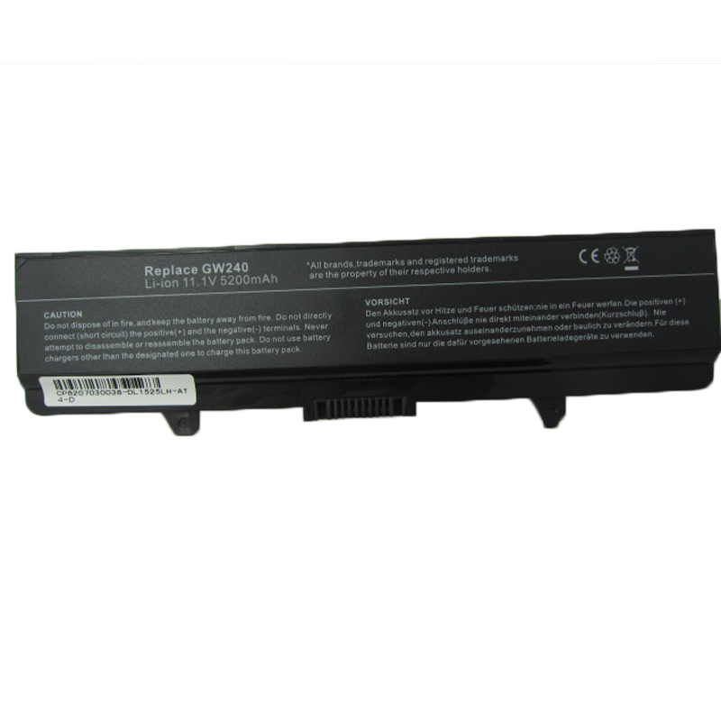 HSW 5200MAH Replacement Laptop Battery For Dell Inspiron 1525 1526 1545 1440 1750 312 0625 C601H D608H GW240 XR693 M911G GP952 in Laptop Batteries from Computer Office