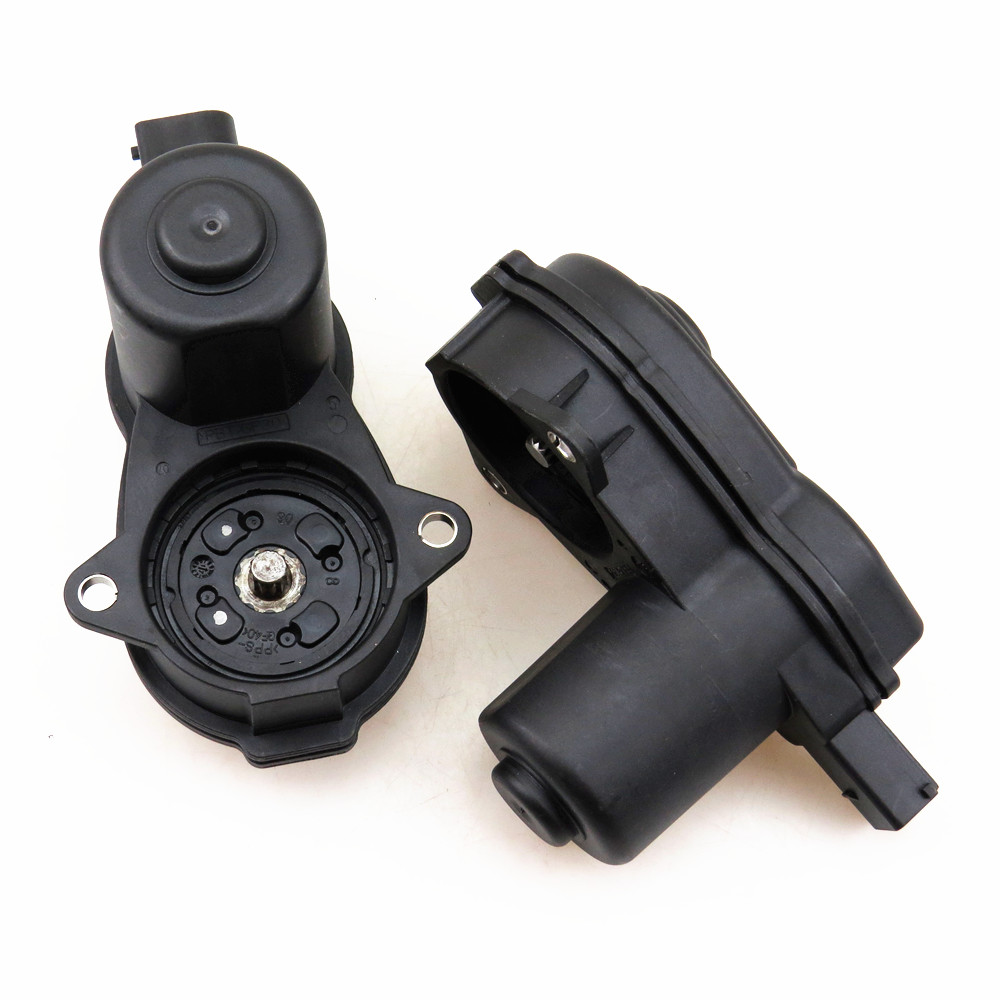 TUKE 2 Pcs Rear Handbrake Caliper Brake Servo Motor 32335478 8K0 998 281 4E0 615 137 8K0998281 4E0615137 For A5 S5 Q5 A4 S4