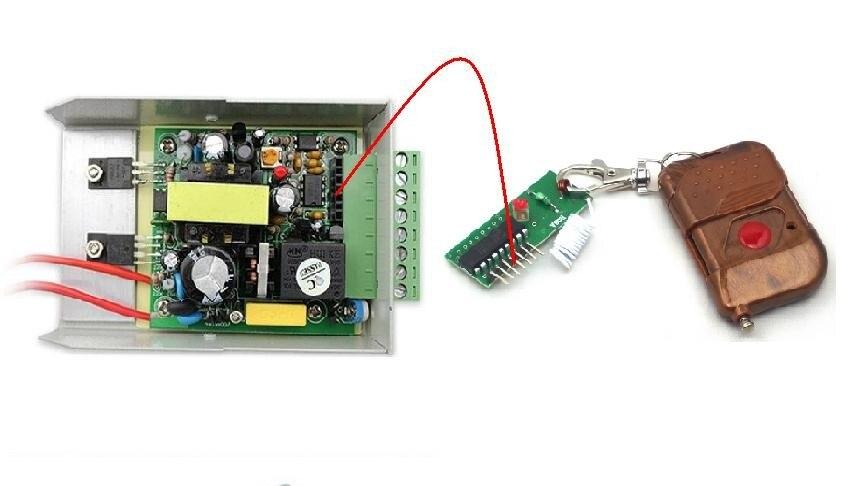 110 to 240V input 12V3A output access control transformer power supply Switch Power Supply + Remote control module bk 2000va 660v 220vac transformer bk type of control transformer 660vac input 220vac output