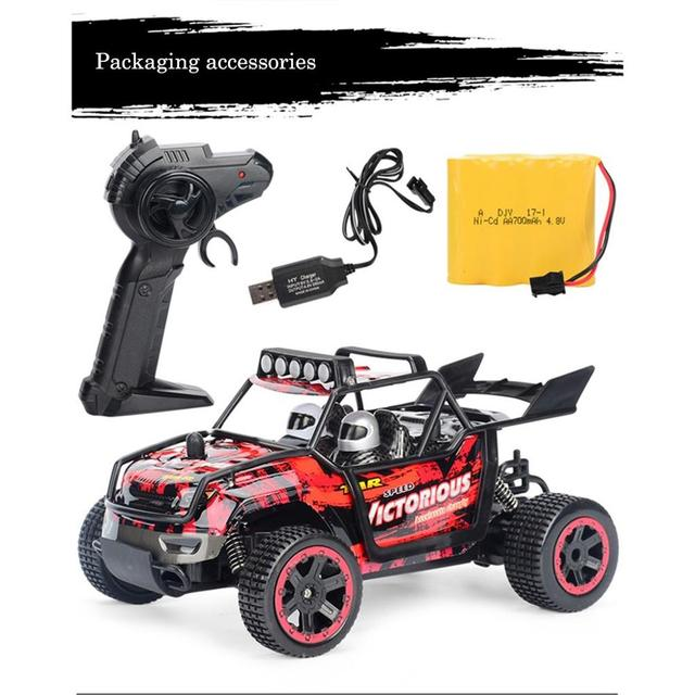2WD RC Cars 1/24 2.4G 30km/H Independent Suspension Off Road Crawler Remote Control Car